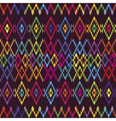 ethnic colored carpet vector image