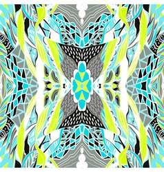 Hand drawn pattern with artistic pattern Seamless vector image vector image