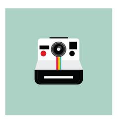 A polaroid camera or color vector