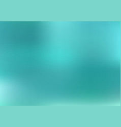 Abstract blurred gradient turquoise background vector