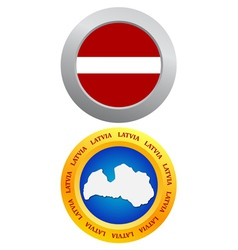 Buttons as a symbol of Latvia vector