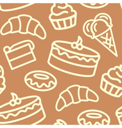 Confectionery pattern vector