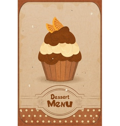 muffin vector image