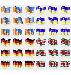 Tierra del Fuego Province Buryatia Germany vector