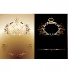 royal backgrounds vector image