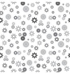 Mechanical pinions seamless vector image