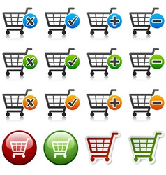 Add delete shopping cart item vector