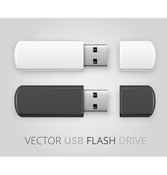 An isolated USB pen drive vector