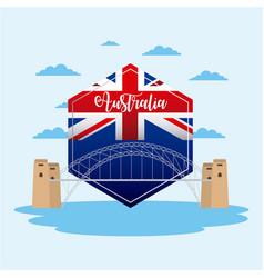 Australia day celebration vector