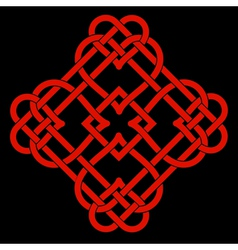 Celtic knot design vector