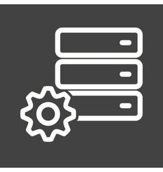 Database Settings vector