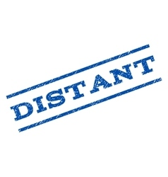 Distant Watermark Stamp vector