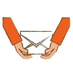 Envelope and mail design vector