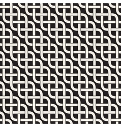 Interlaced Lines Celtic Ethnic Ornament vector image