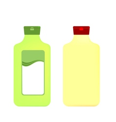 Packaging bottles vector