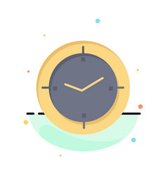 Time timer compass machine abstract flat color vector