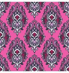 Royal seamless pattern damask vector image