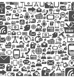 Communications a background vector image