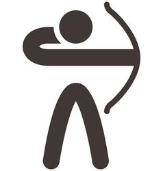 2294 Archery icon vector