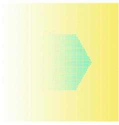 Abstract background hexagon design yellow vector