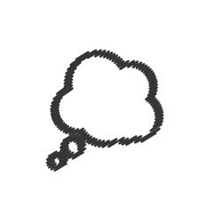 Bubble communication message icon graphic vector