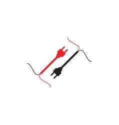circuit technology ilustration logo vector image