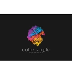 Eagle logo design bird logo color eagle america vector