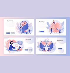 Psychology psychologist online psychotherapy vector