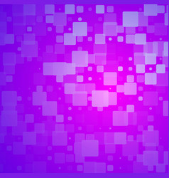 Purple lilac pink glowing rounded tiles background vector