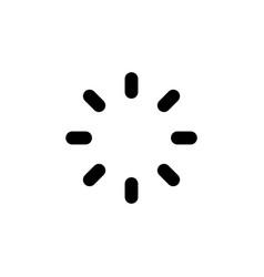 round loading preloader line web or mobile vector image