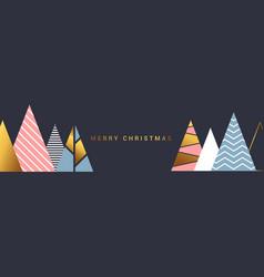 Simple holiday christmas card vector