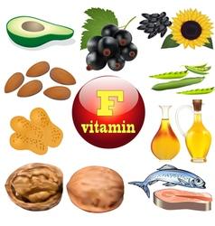Vitamin F content plant vector
