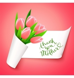 Thank you Mother vector image