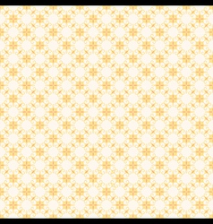retro yellow flora pattern background for wrapper vector image vector image
