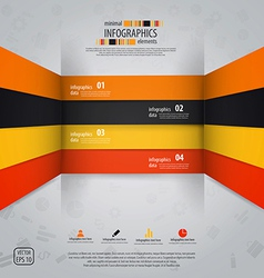 line infographics 2 vector image vector image