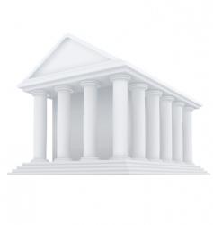 ancient building vector image vector image