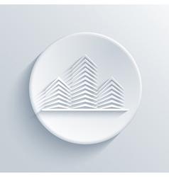 light circle icon vector image