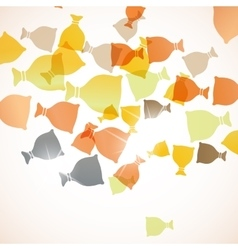 abstract background sack vector image
