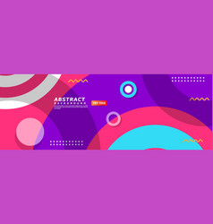 Abstract minimalism background with colorful vector