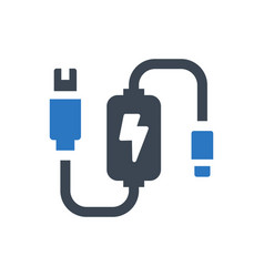 Adapter icon vector