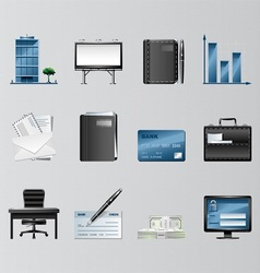 Business Objects vector image