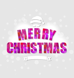Color Xmas Poster vector