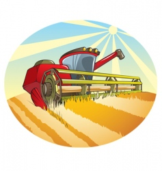 combine machine vector image
