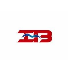 iB company logo vector image