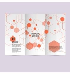Modern Hexagon Design background vector
