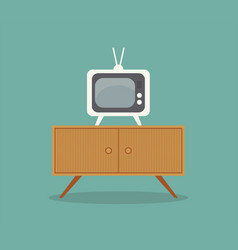 Small television or color vector