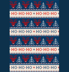 Ugly sweater merry christmas party ornament vector