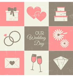 Wedding Day Collection vector