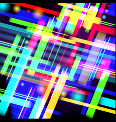 abstract tech background of colorful light and vector image