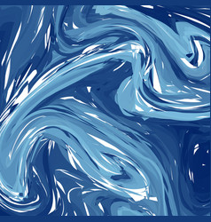 abstract winter background hand painted blue vector image